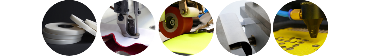 from garment clothing manufacturing machines to seam sealing tapes & adhesives